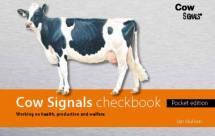 Cow Signals Checkbook - pocket edition